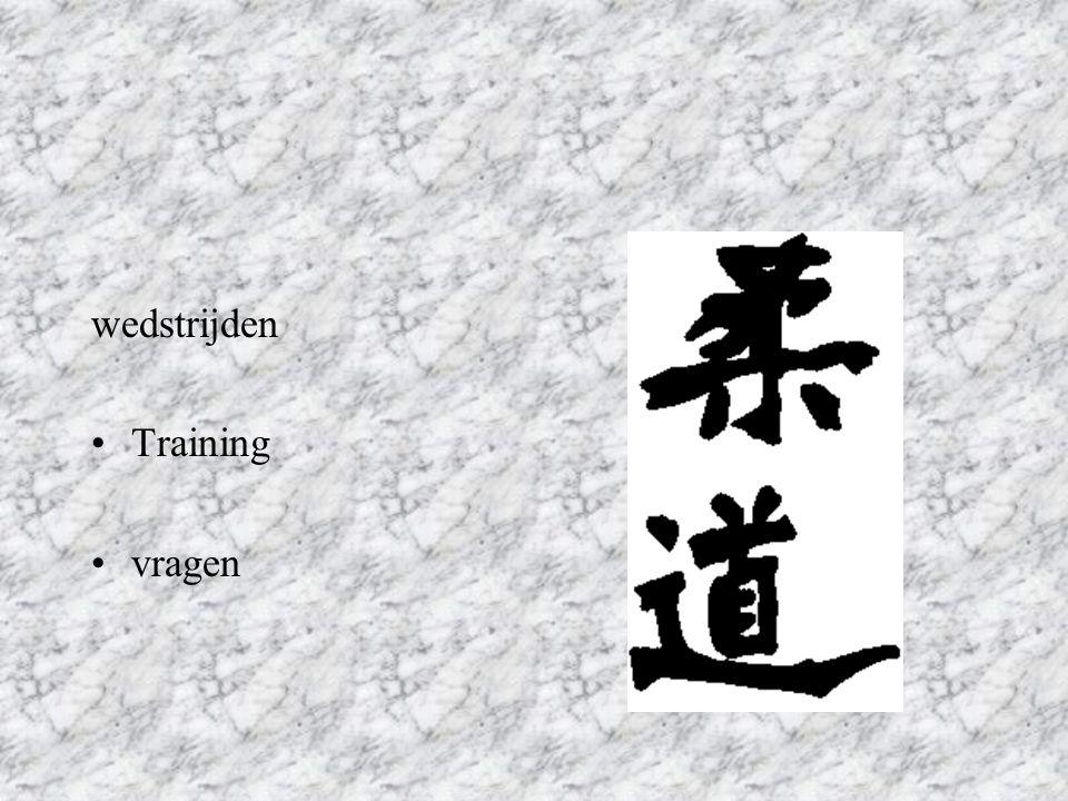 wedstrijden Training vragen