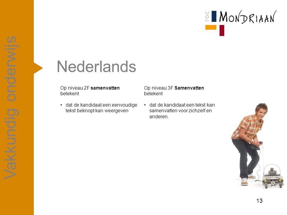 Nederlands Vakkundig onderwijs april '17
