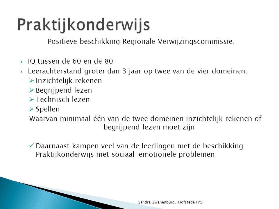 Positieve beschikking Regionale Verwijzingscommissie: