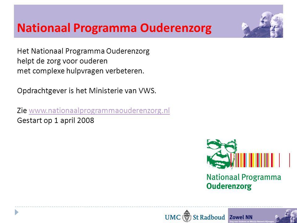 Nationaal Programma Ouderenzorg
