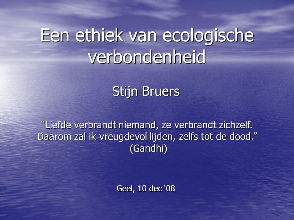 Een ethiek van ecologische verbondenheid