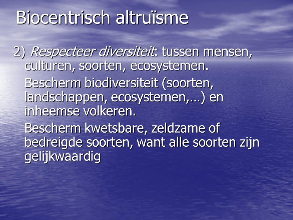 Biocentrisch altruïsme