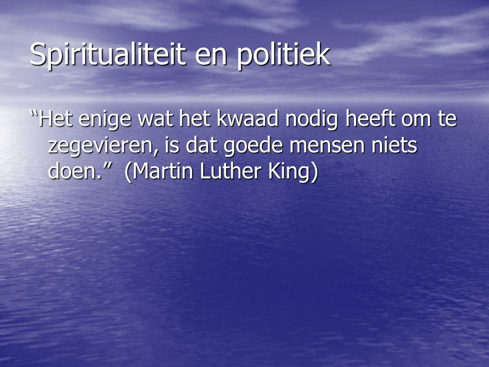 Spiritualiteit en politiek