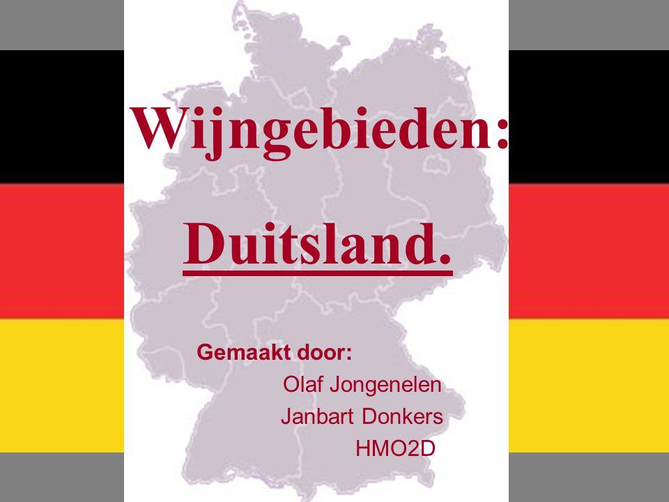 Wijngebieden: Duitsland.