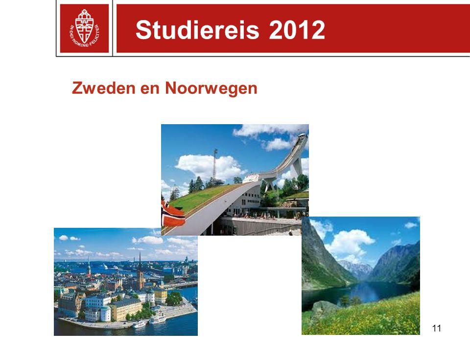 Studiereis 2012 Zweden en Noorwegen