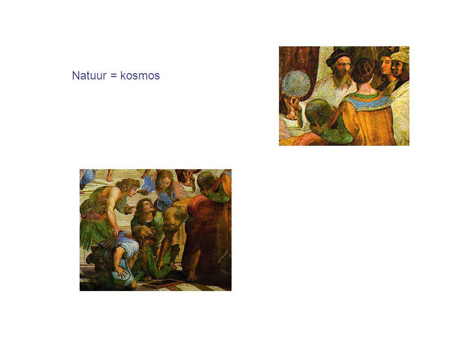 Natuur = kosmos