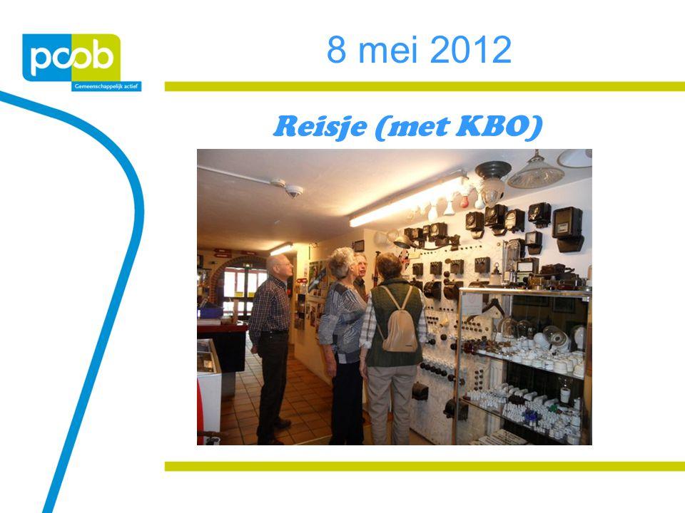 8 mei 2012 Reisje (met KBO)
