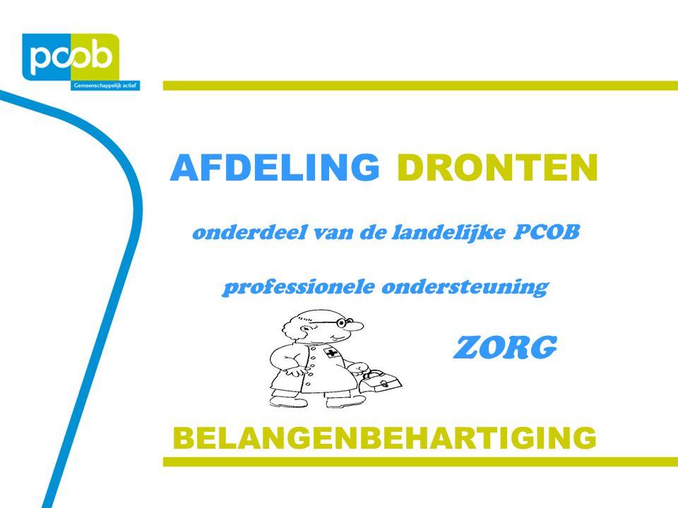 AFDELING DRONTEN ZORG BELANGENBEHARTIGING