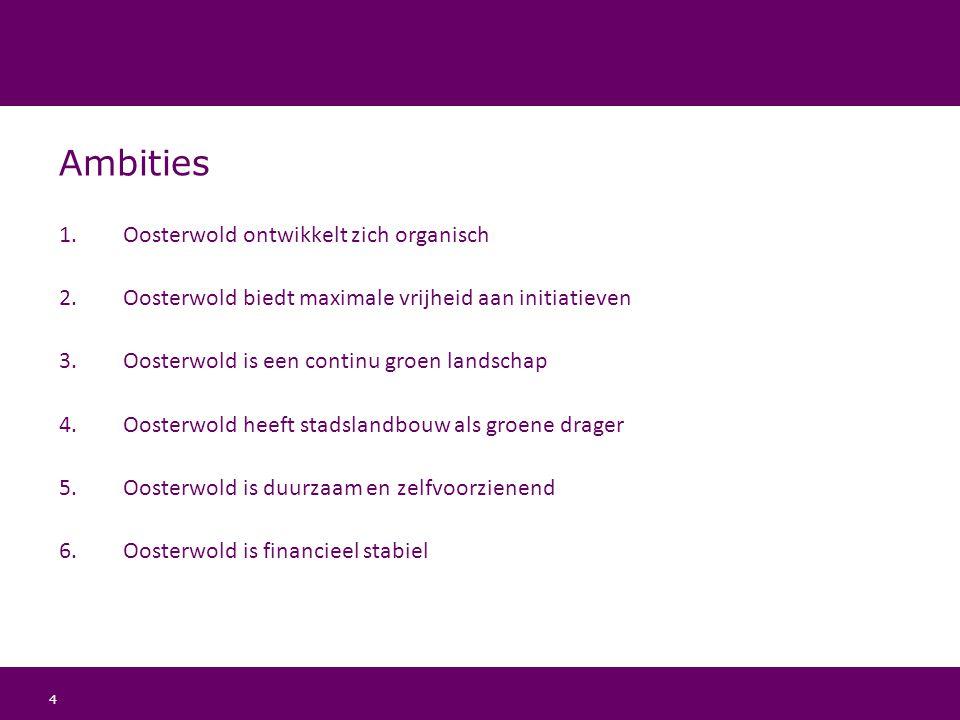 Ambities Oosterwold ontwikkelt zich organisch