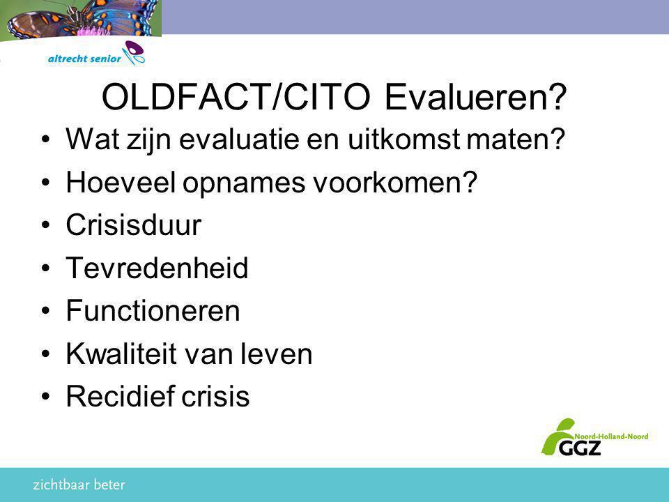 OLDFACT/CITO Evalueren