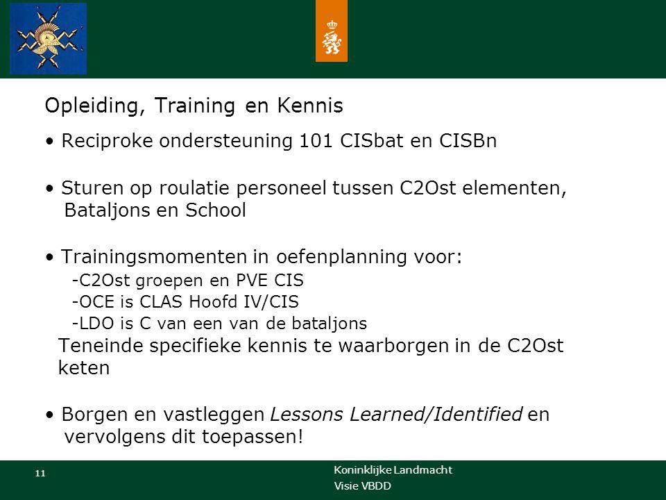 Opleiding, Training en Kennis