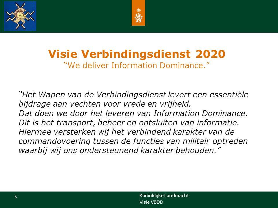 Visie Verbindingsdienst 2020