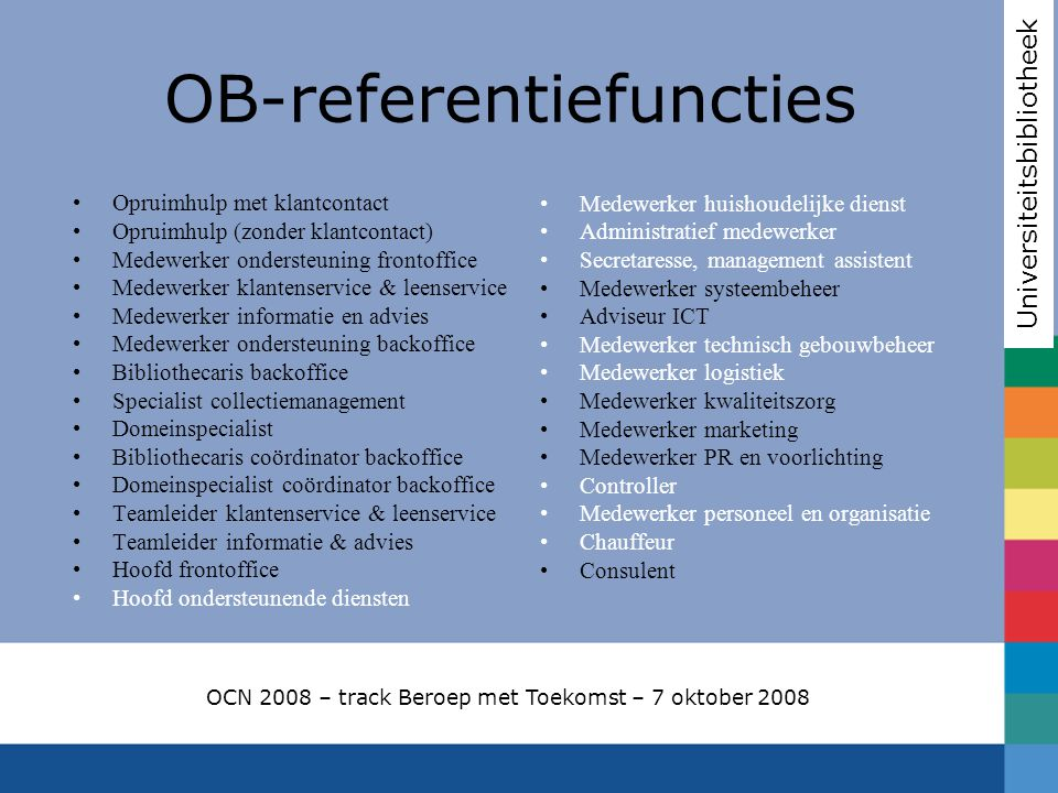 OB-referentiefuncties