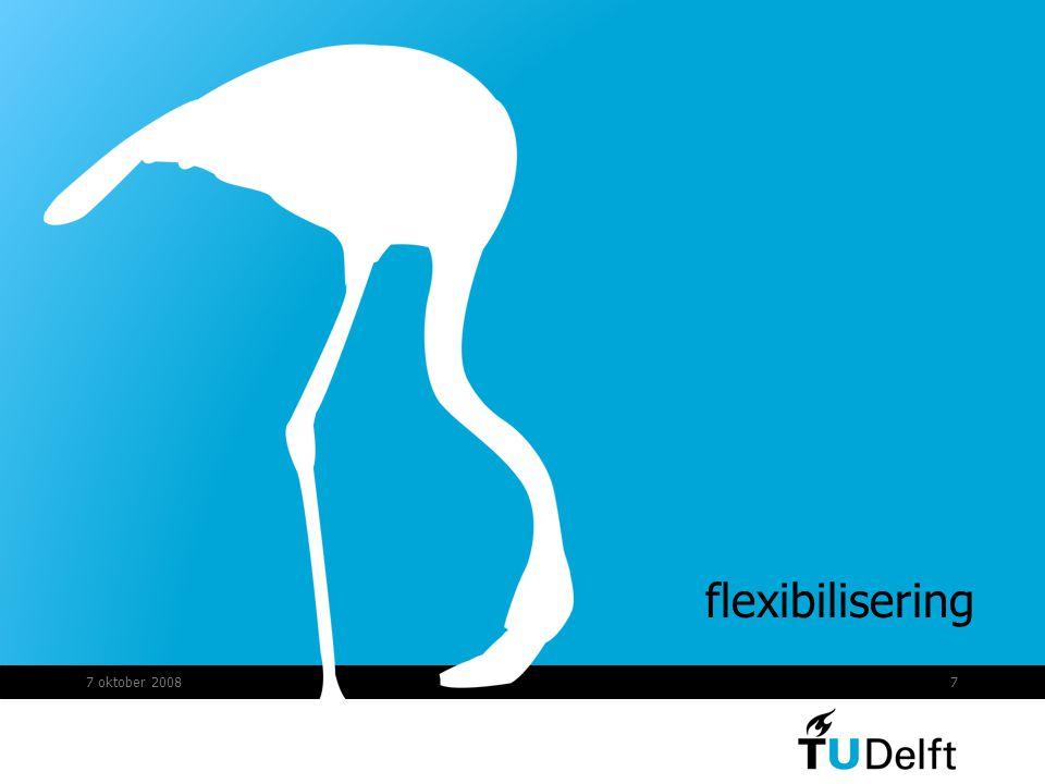 flexibilisering 7 oktober 2008