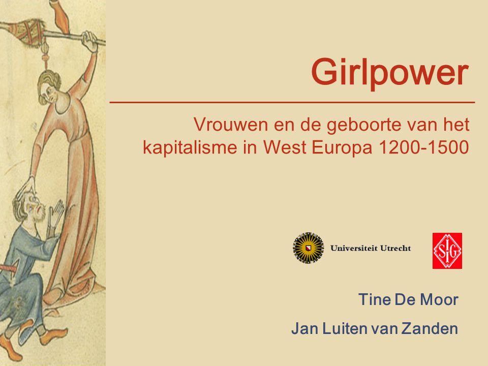 Vrouwen en de geboorte van het kapitalisme in West Europa 1200-1500