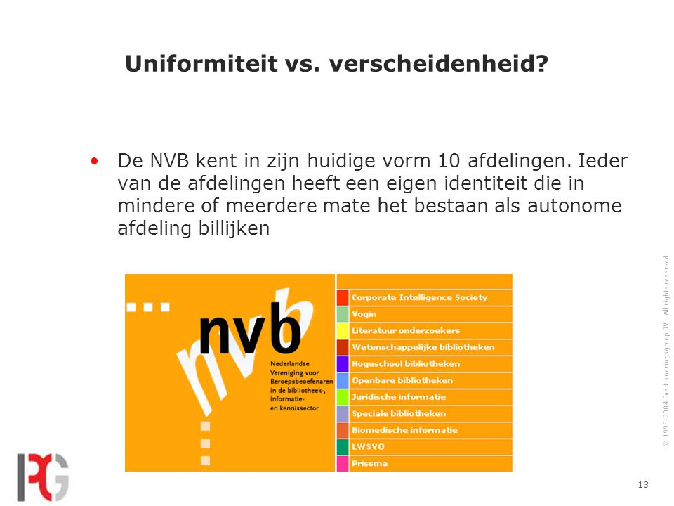 Uniformiteit vs. verscheidenheid