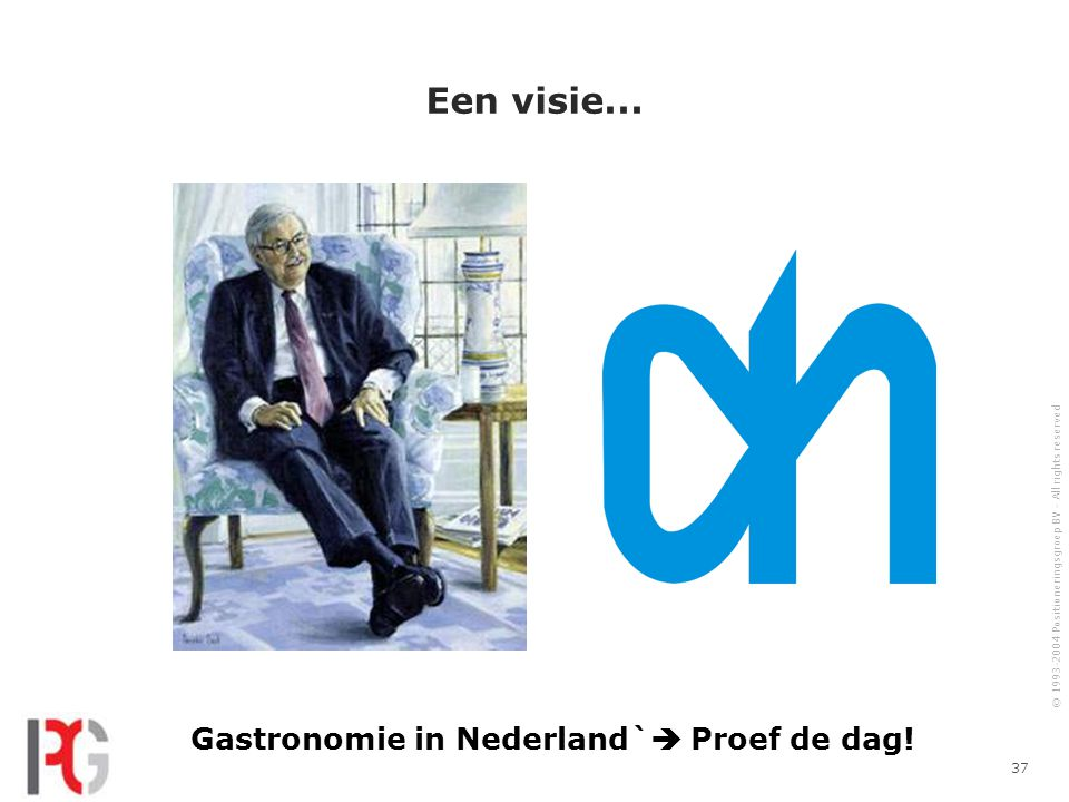 Gastronomie in Nederland` Proef de dag!