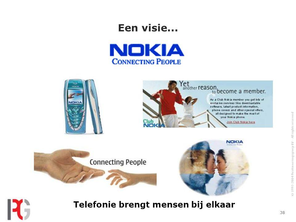Telefonie brengt mensen bij elkaar