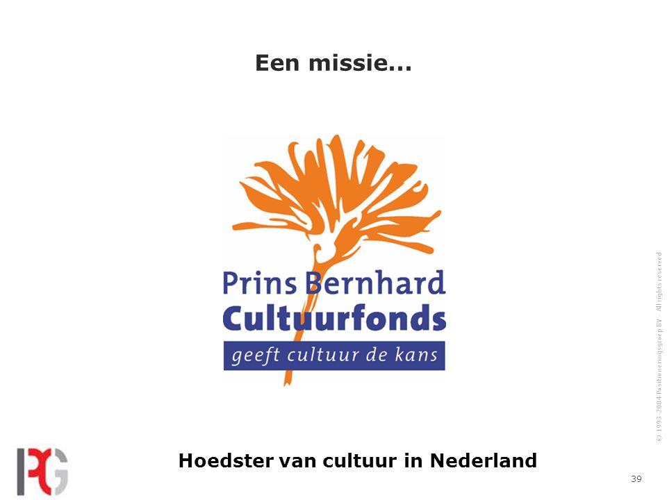 Hoedster van cultuur in Nederland