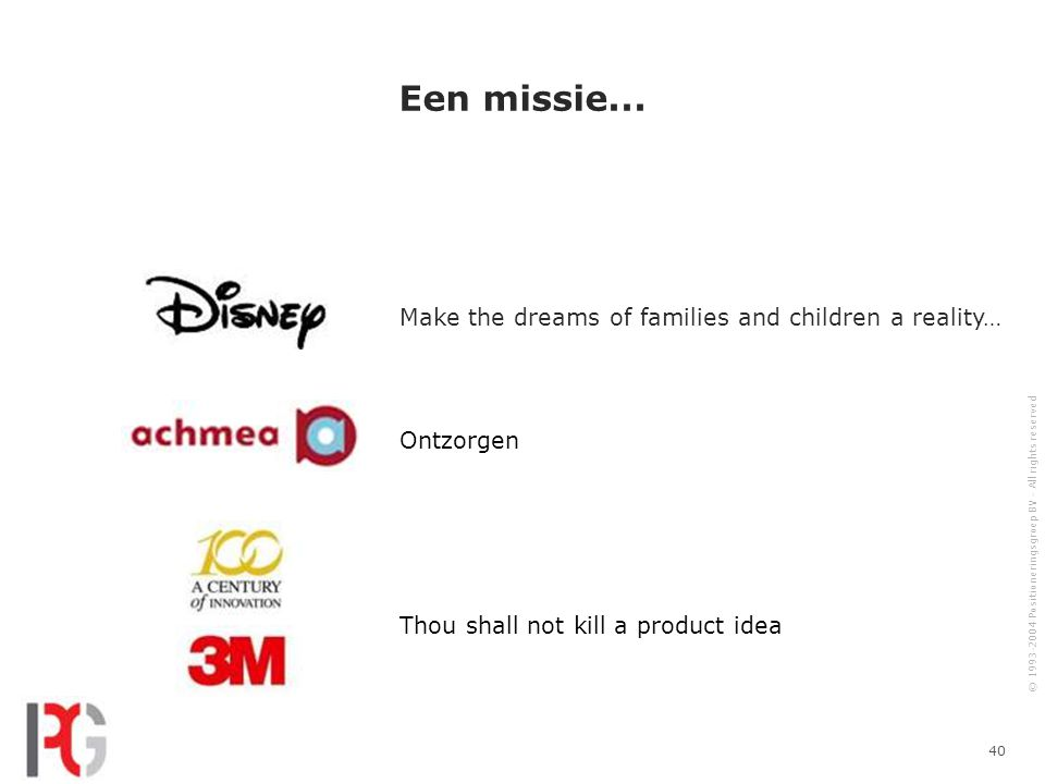 Een missie... Make the dreams of families and children a reality…