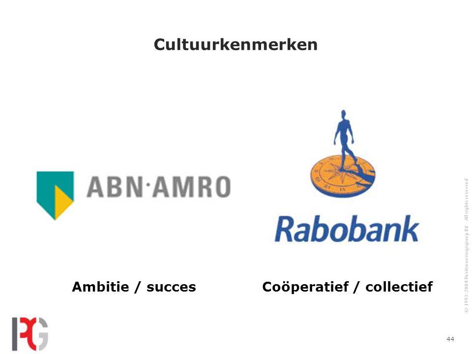 Coöperatief / collectief
