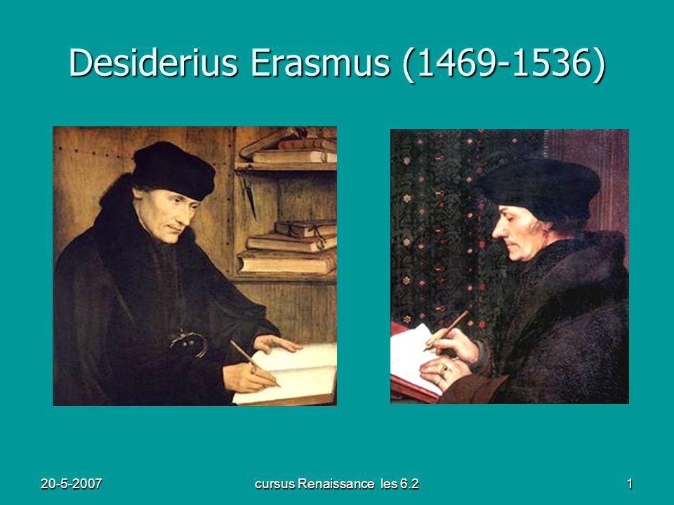 Desiderius Erasmus (1469-1536)