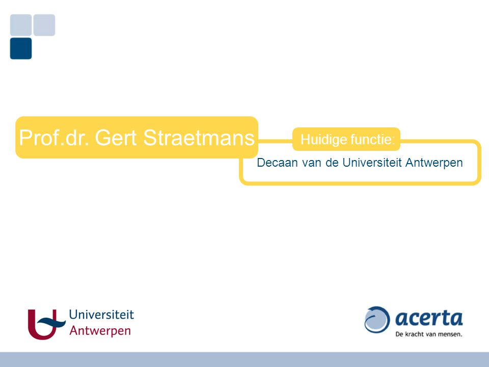 Prof.dr. Gert Straetmans