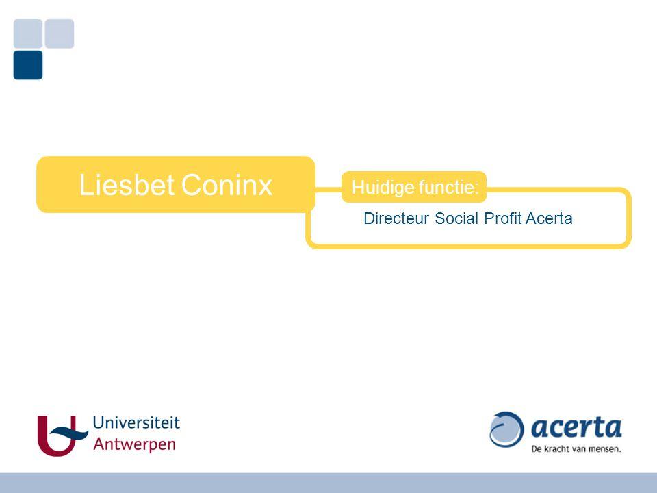 Directeur Social Profit Acerta