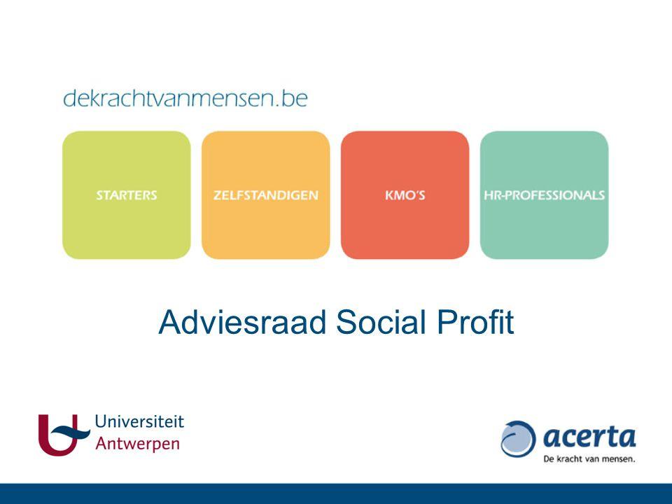 Adviesraad Social Profit