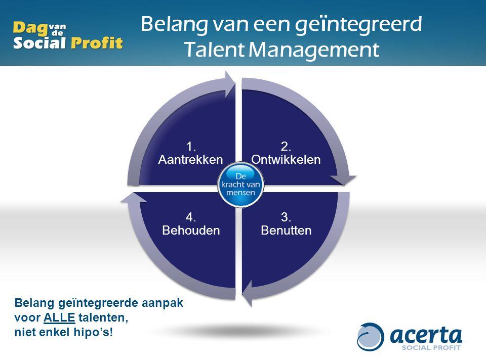 Belang van een geïntegreerd Talent Management