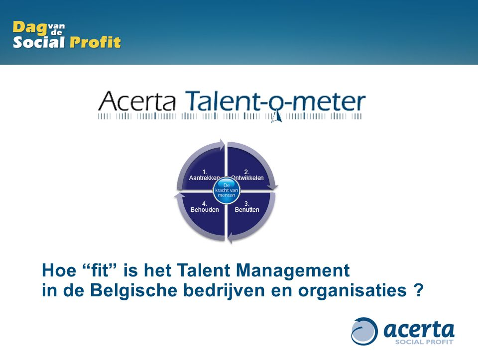 Hoe fit is het Talent Management
