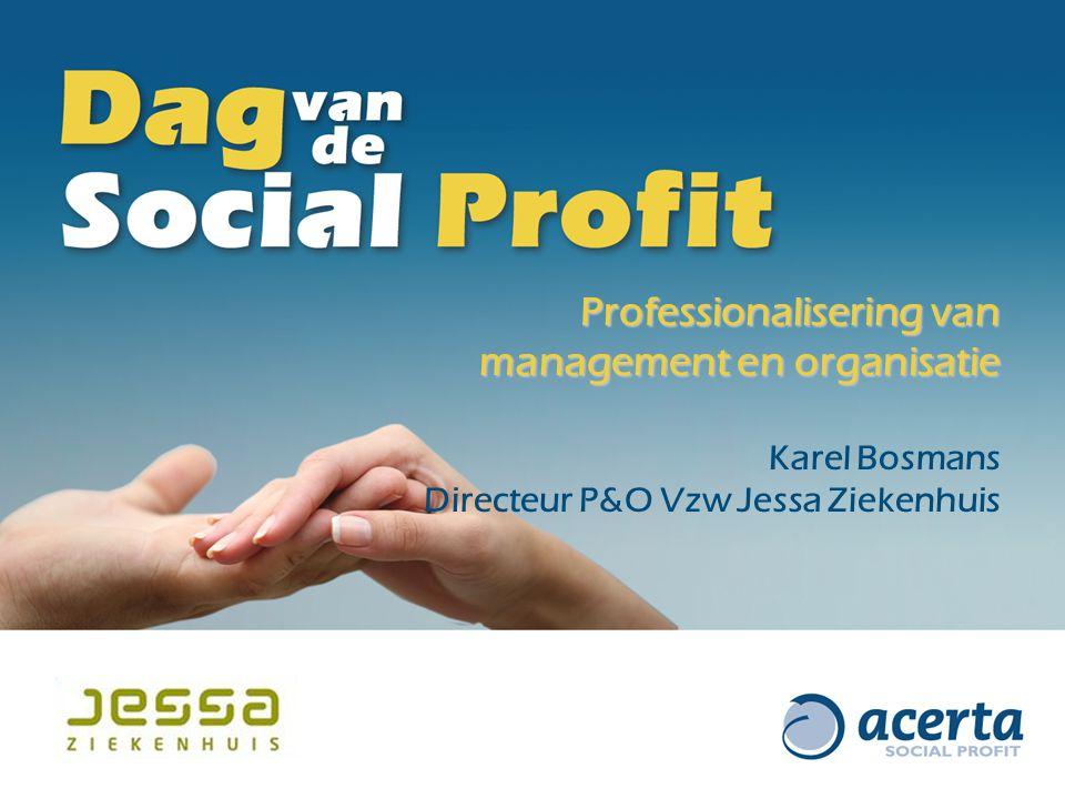 Professionalisering van management en organisatie