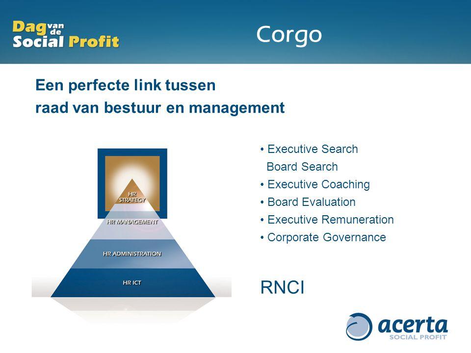 Corgo RNCI Een perfecte link tussen raad van bestuur en management