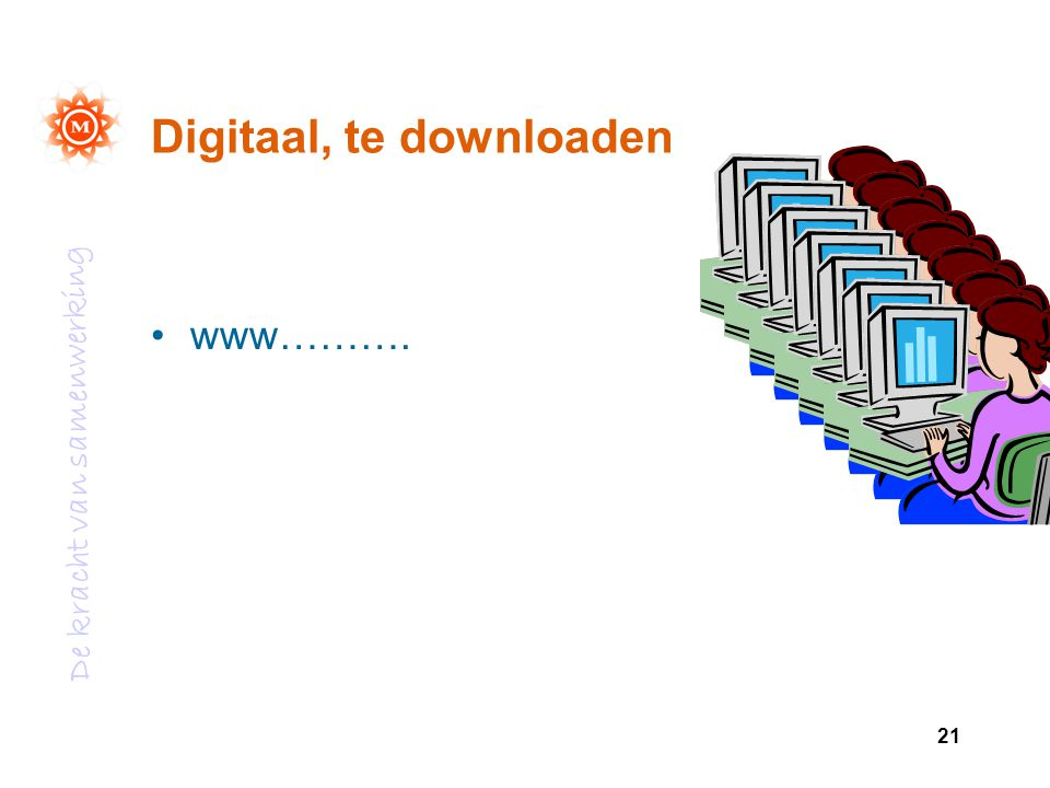 Digitaal, te downloaden