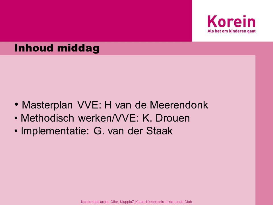 Masterplan VVE: H van de Meerendonk