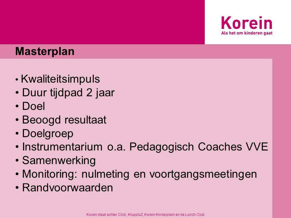 Instrumentarium o.a. Pedagogisch Coaches VVE Samenwerking