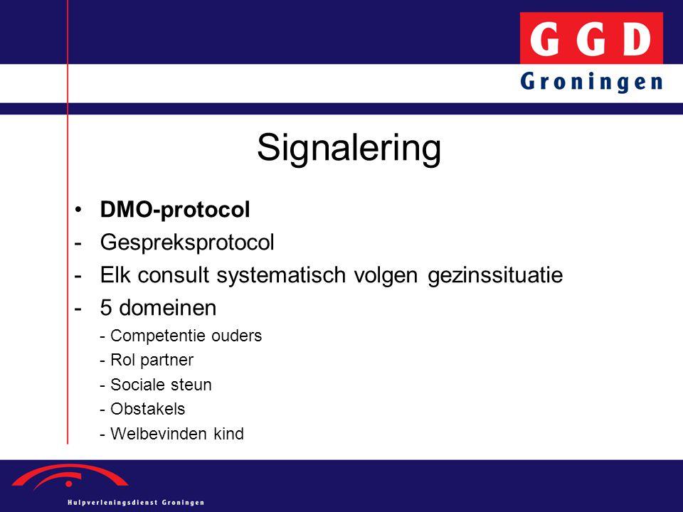 Signalering DMO-protocol Gespreksprotocol