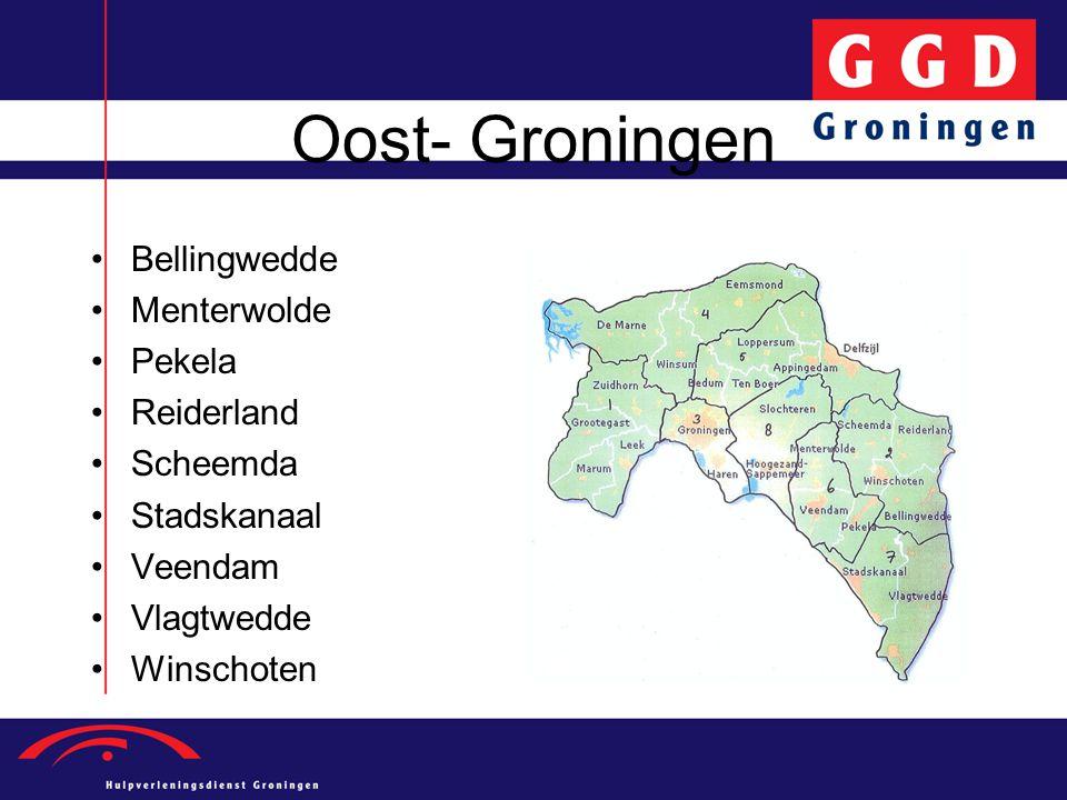 Oost- Groningen Bellingwedde Menterwolde Pekela Reiderland Scheemda