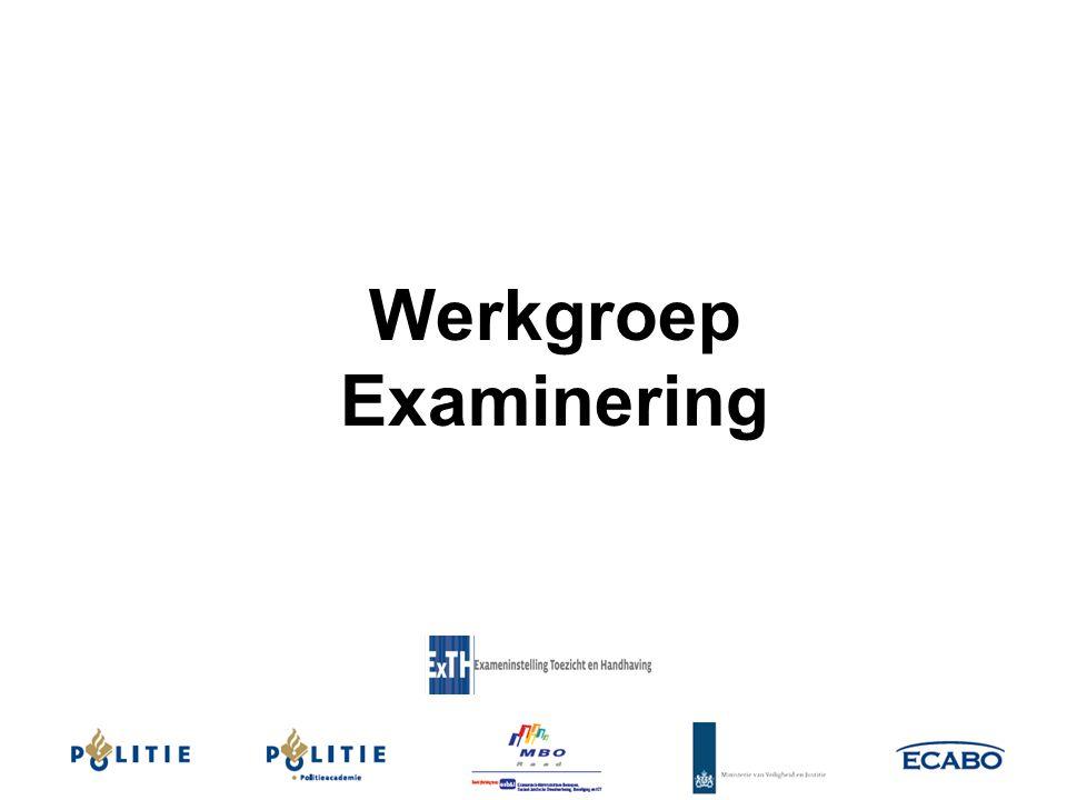 Werkgroep Examinering