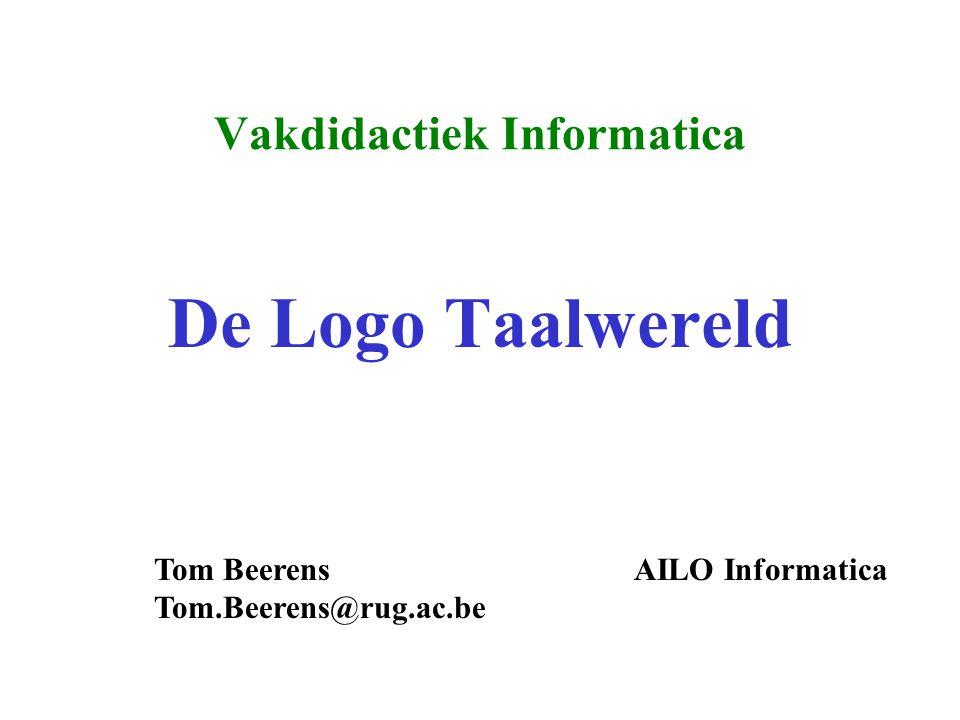 Vakdidactiek Informatica