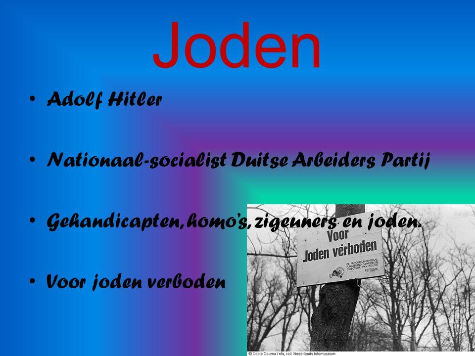 Joden Adolf Hitler Nationaal-socialist Duitse Arbeiders Partij