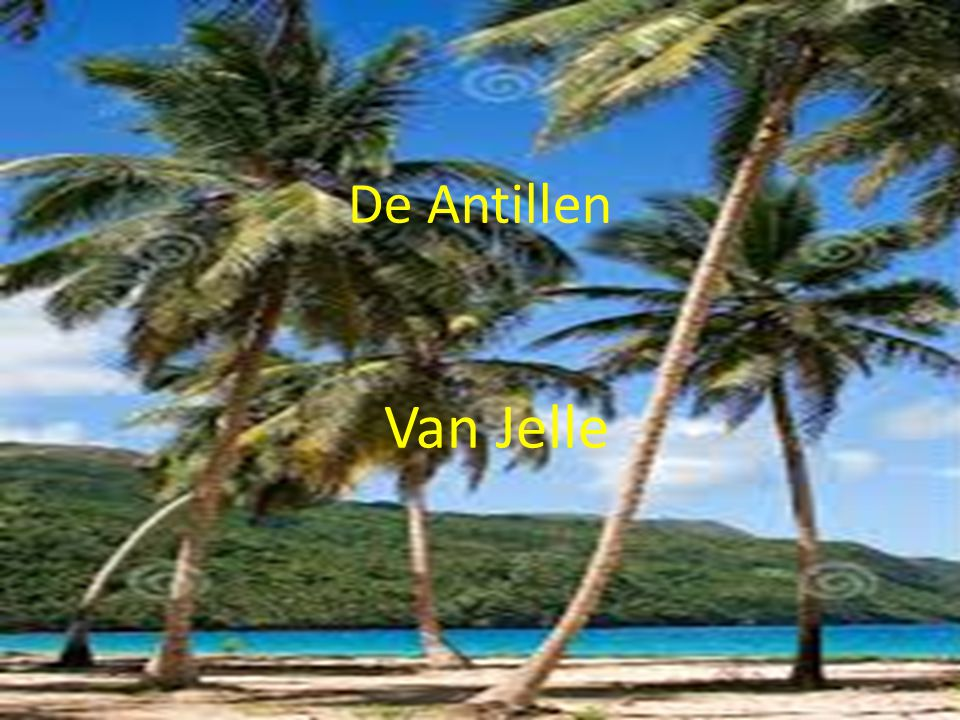 De Antillen Van Jelle