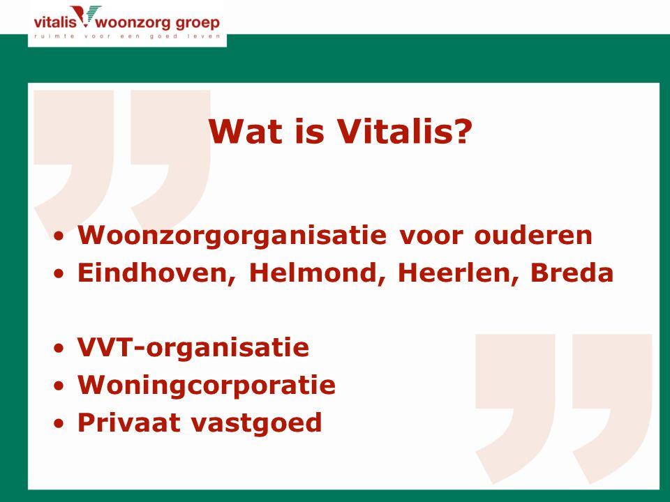 Wat is Vitalis Woonzorgorganisatie voor ouderen