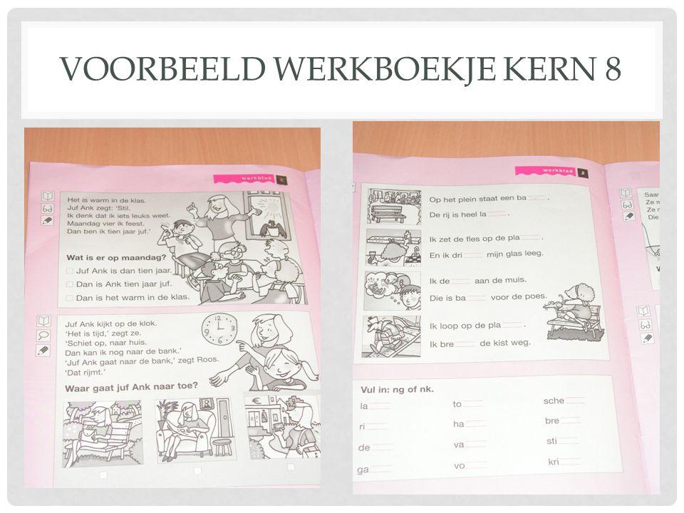 VOORBEELD WERKBOEKJE KERN 8