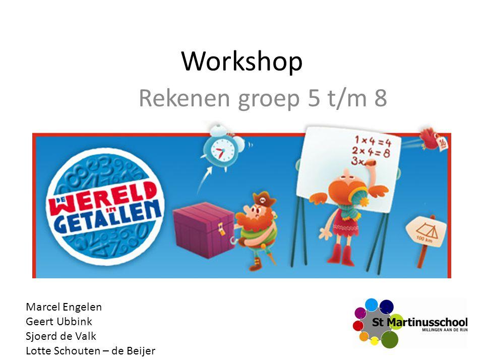 Workshop Rekenen groep 5 t/m 8