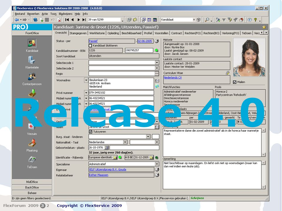 Release 4.0