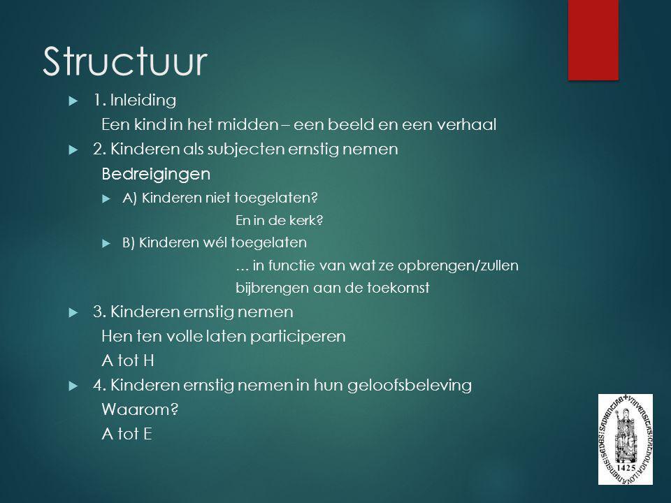 Structuur Bedreigingen 1. Inleiding