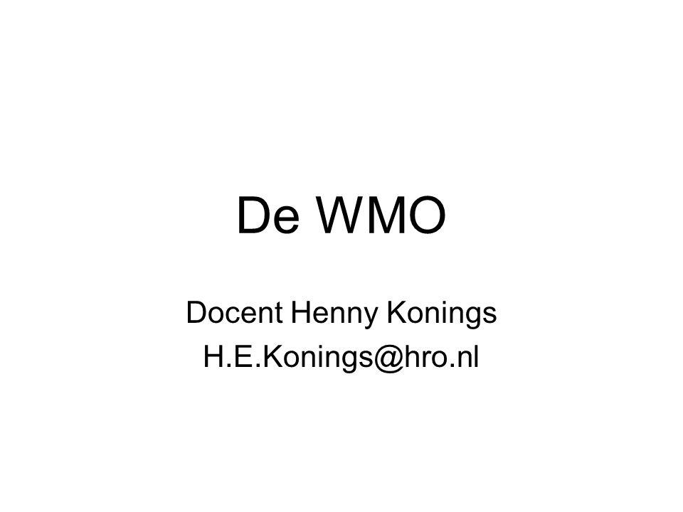 Docent Henny Konings H.E.Konings@hro.nl