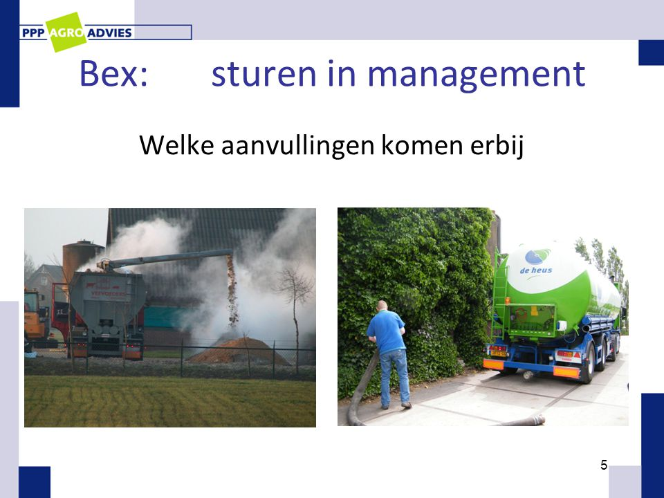 Bex: sturen in management