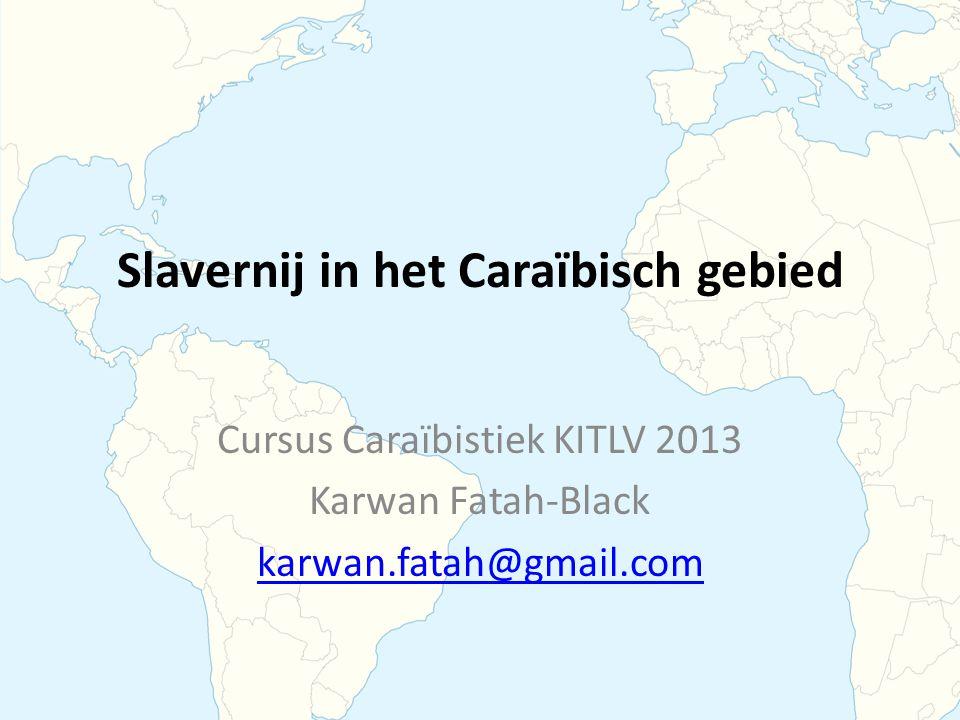 Slavernij in het Caraïbisch gebied